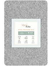 """Love Sew Wool Pressing Mat - Ironing Pad for Quilters and Sewers - Perfect Small Pressing Mat for Ironing Boards (18"""" x 12"""")"""
