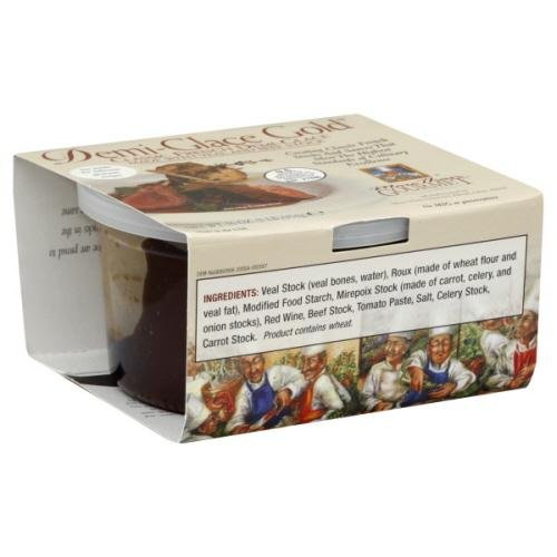 More Than Gourmet, Sauce Demi Glace Gold Classic Frn, 16-Ounce (04 Pack)