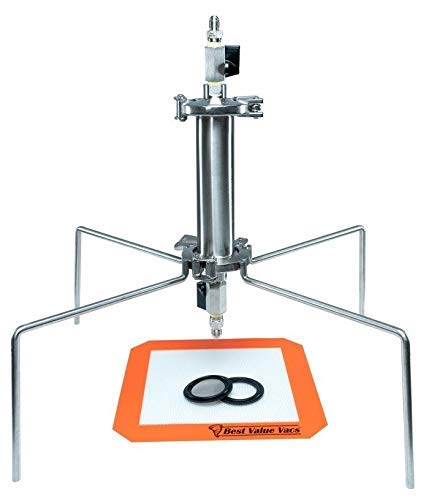Best Value Vacs Brand- SS304 Sanitary Fitting Tri-Clamp 45g Closed Column Extractor
