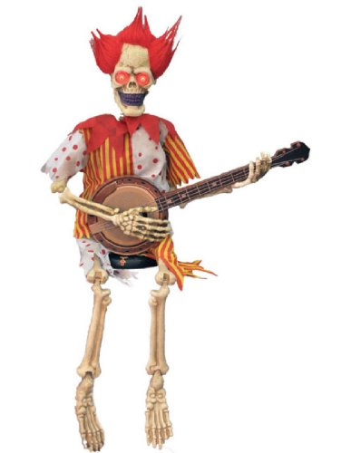 Clown Playing Banjo 39 In (Wretched Animated Prop)