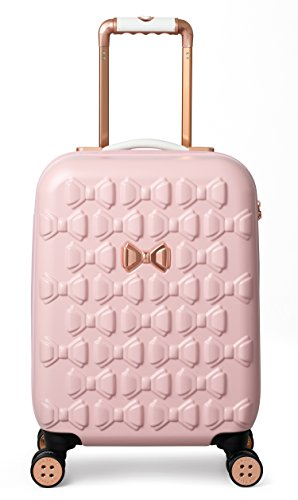 Ted Baker Women's Beau Collection Small Carry-on Hardside Spinner (Pink)