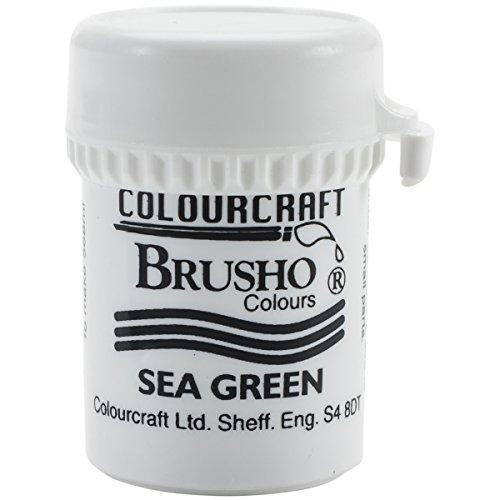 Brusho Crystal Colours 15 Gram Sea Green