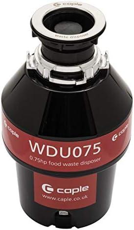 Caple WDU075 Unit/é d/élimination des d/échets de cuisine Isolation acoustique 0,75 chevaux