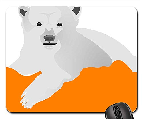 Mouse Pads - Ice Bear Polar Cold Animal White Arctic Cute