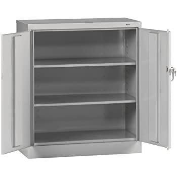 Amazon.com: Salsbury Industries Counter Height Storage Cabinet, 42 ...