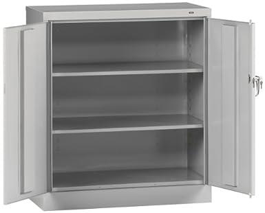 Tennsco 4218 Standard Welded Counter High Storage Cabinet, 36u0026quot; Width X  42u0026quot; Height