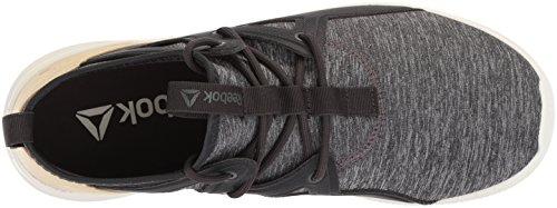 Coal Motion Chalk Ash Reebok Women's Cardio Straw Sneaker Grey 7PUxnIqwpE