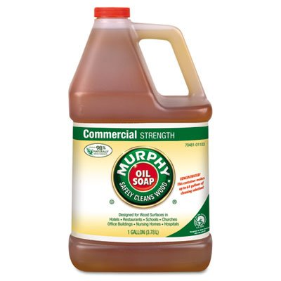 Murphy Oil Soap Soap Concentrate, 1gal Bottle, 4/Carton (Concentrate Gallon Bottle 1)