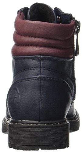 Marco Tozzi Mädchen 46203 Stiefel Blau (Navy/Chianti)
