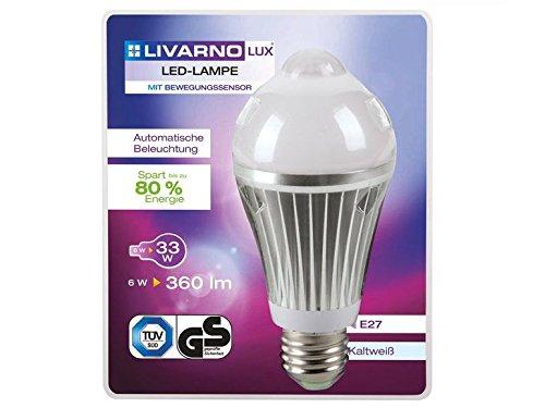 LED-Lámpara de mesa livarno Lux con sensor de movimiento: Amazon.es: Iluminación