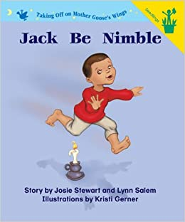 early reader jack be nimble josie stewart lynn salem 9780845499221 books. Black Bedroom Furniture Sets. Home Design Ideas