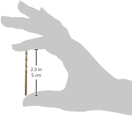 Irwin Tools 63109 9//64-Inch Cobalt 135-Degree Jobber Length Pack of 12