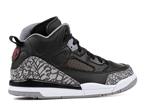 Pre School Nike Air Jordan Spizike Bp Zwart Cement Zwart / Wit / Rood Zwart, Varisty Rood-cement Grijs