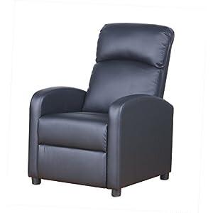 PRIXTON Poltrona Relax Reclinabile da Massaggio Elettrica Reclinabile con Funzione Riscaldamento