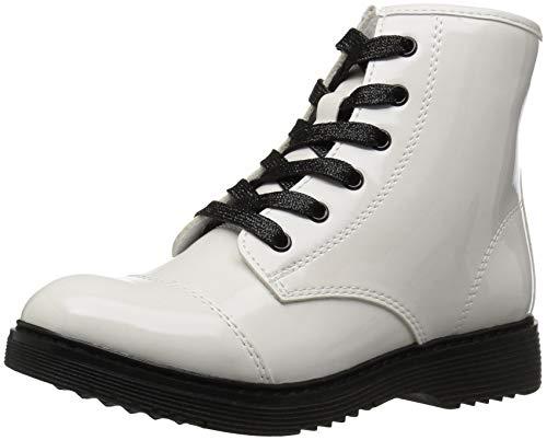 The Children's Place Girls Fashion Boot, White, Youth 12 Child US Little Kid ()