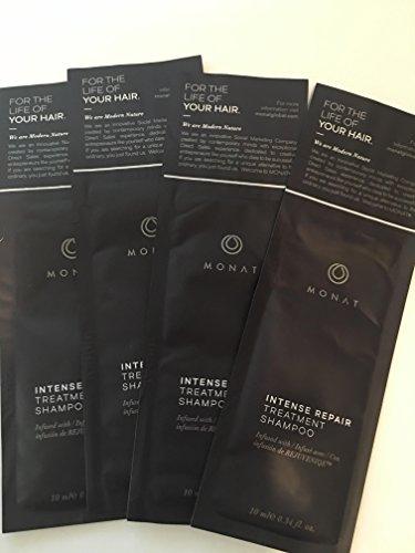 MONAT Intensive Repair Treatment Shampoo 10 ml/ 0.34 oz 4 pack