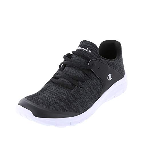 Champion Women's Black Gusto Sockfit Runner 6.5 Regular