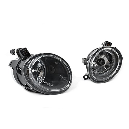 BMW E39 M5 01-03 Direct Replacement Clear Fog Lights Lamps (Bmw M5 Fog Light)