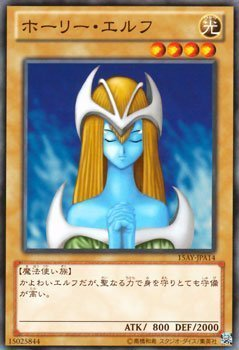 Amazon.com: Yu-Gi-Oh! Cards Holy Elf / Demon Kings Memory ...