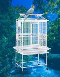 32″ X 23″ X 68″ Wrought Iron Play Top Bird Cage, My Pet Supplies