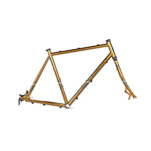 Bombtrack Arise Cyclocross Frame, 51 cm Gold (S)