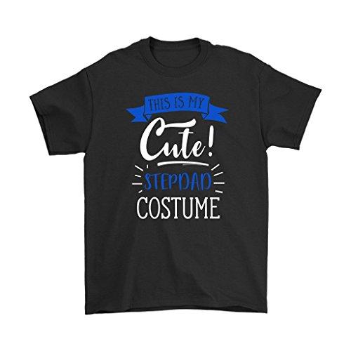 Last Minute Costume Ideas - This is My Cute Stepdad T-Shirt - Men's Sized Tee, - Ideas Last Minute Costume