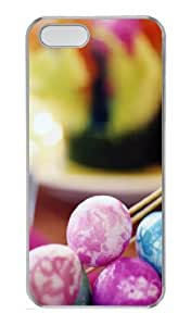 Basket Of Easter Eggs Polycarbonate Hard Case Cover for iPhone 5/5S ¡§C Transparent by mcsharks