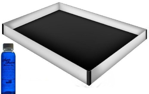 Califonia King 12 Mil Stand Up Safety Liner with a Premium 4oz Clear Bottle (Hardside Waterbed Mattress)