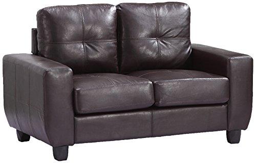Glory Furniture G205A-L Living Room Love Seat, Cappuccino