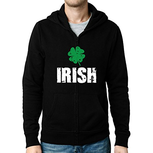 Irish Shamrocks Zip Hoodie - 3