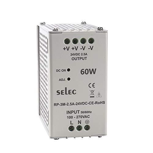 SELEC 2.5A, 24VDC SMPS