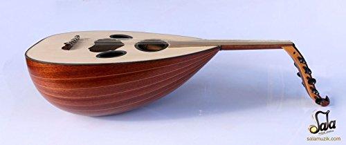 Syrian Quality Handmade Mahogany String Instrument Oud Ud ASO-101M by Sala Muzik