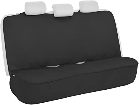 S Heavy Duty Durable Water Resistant Single Seat Cover Black tech automotive Discovery 3