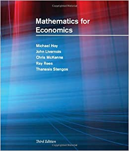 Mathematics for Economics