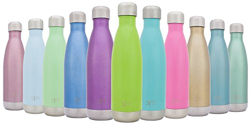 Simple Modern Stainless Steel Vacuum Insulated Double-Walled Wave Bottle, 25oz - Limeade Green