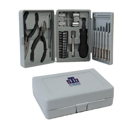 CollegeFanGear St. Thomas Compact 26 Piece Deluxe Tool Kit 'Official Logo' by CollegeFanGear