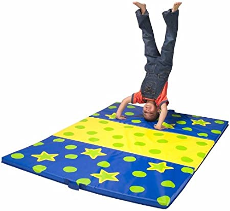 Amazon Com Alex Active Play Tumbling Mat Kids Exercise Activity Toys Games