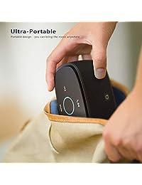 Altavoz Bluetooth portátil con sonido acústico bien calibrado, 10 W de graves mejorados, sensibilidad táctil, micrófono integrado, perfecto para el hogar, viajes y regalo