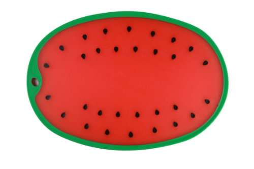 Dexas Watermelon Cutting/Serving Board, Watermelon Shape