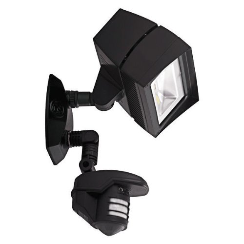 RAB Lighting STL3FFLED18Y Lstealth Ffled18 18W Warm Led with Stl360 Sensor, Bronze by RAB Lighting