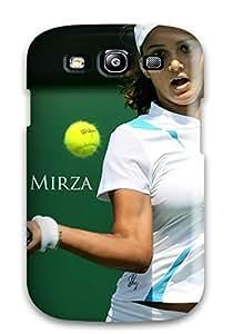 Galaxy High Quality Tpu Case/ Tennis Star Sania Mirza JknTiOm1148Vuffp YY-ONE For Galaxy S3