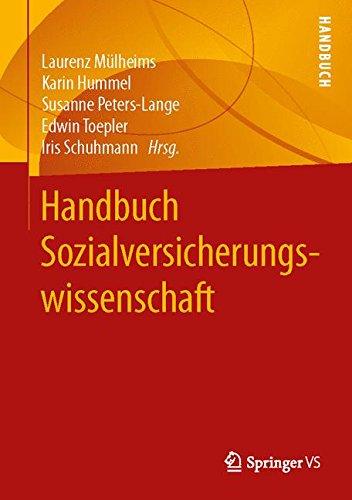 Handbuch Sozialversicherungswissenschaft Gebundenes Buch – 1. Oktober 2015 Laurenz Mülheims Karin Hummel Susanne Peters-Lange Edwin Toepler