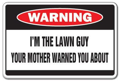 SignMission - Señal de advertencia con texto en inglés