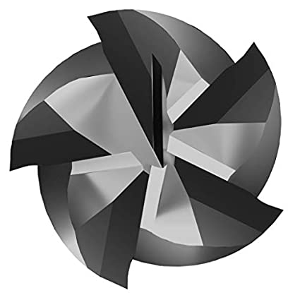 5 Flute 3 LOC 6 OAL 3//4 Diameter 0.035 to 0.040 Radius CGC Tools GM34RXL5 Gorilla High Performance GMX-35 Coated Carbide End Mill Radius End