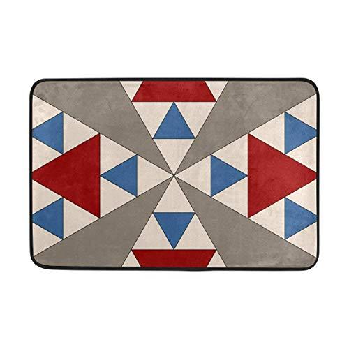 - Sdfr4 Panama Pyramids Block Doormat,Area Rug Rugs Non-Slip Indoor Outdoor Floor Mat Doormats for Home Decor 26.3 x 15.7 inches