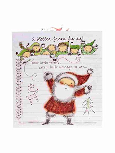 Amazon letter from santa new christmas greeting card dear letter from santa new christmas greeting card dear little friend m4hsunfo