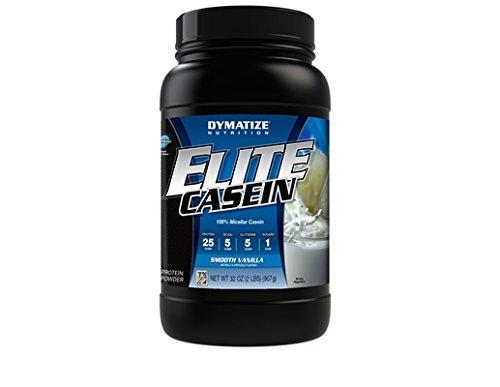 Dymatize Nutrition - Elite Casein Smooth Vanilla, 2 lb powde