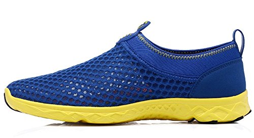 TOOSBUY Women s Quick Drying Aqua Mesh Slip On Water Shoes