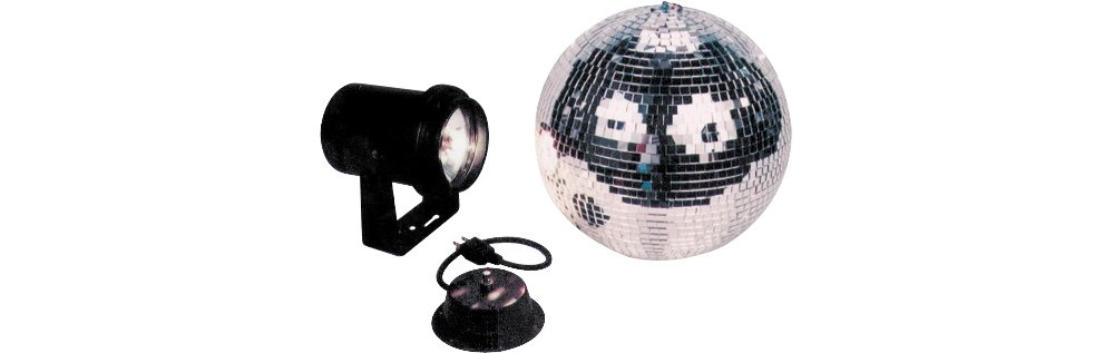 ADJ Products M-500L American Dj 12 Inch Mirror Ball Package