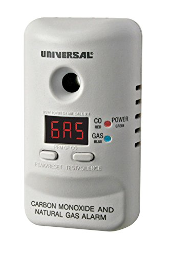 Universal Security Instruments MCND401B M Series Plug-In Carbon Monoxide and Natural Gas Alarm with 120-Volt Battery Backup - Carbon Monoxide Detector Natural Gas